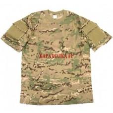 Тактическая футболка из камуфлированной ткани multicam размер XL