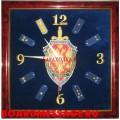 Настенные часы ФСБ с погонами