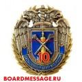 Нагрудный знак 10 лет Ситуационному центру ФСО России
