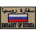Шеврон сотрудников ЦСН Заслон СВР России с липучкой