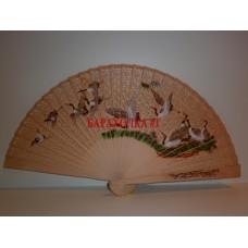 Китайский бамбуковый веер