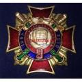 Нагрудный знак 15 лет 9 отделу милиции УВД на Московском метрополитене