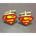 Запонки Superman
