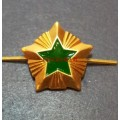 Звезда на погоны ФССП 15 мм