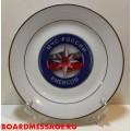 Декоративная тарелка с эмблемой МЧС России