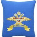 Подушка с эмблемой полиции МВД России