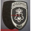 Шеврон сотрудников ВОХР МВД с липучкой для камуфляжа