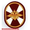 Шеврон военнослужащих внутренних войск МВД России
