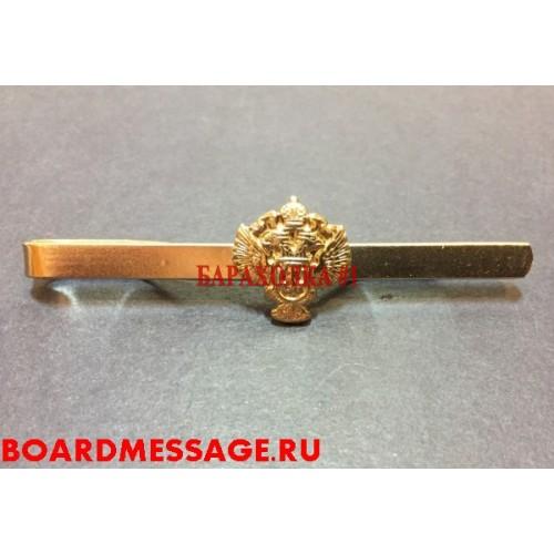 временное заколка с гербом для галстука росгвардия унтер-офицер Кирпичников