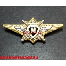 Нагрудный знак Мастер ВС РФ офицерский
