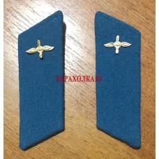Петлицы ВВС СССР с эмблемой