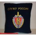 Подушка с вышитой эмблемой ГСН Вымпел