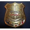 Нагрудный знак Tennessee highway patrol