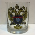 Стакан для виски с эмблемой СВР России
