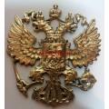 Герб Российской Федерации из бронзы