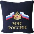Подушка с эмблемой МЧС России