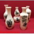 Набор миниатюрных китайских вазочек