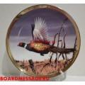 Декоративная тарелка с изображением фазана