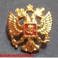 Значок на пиджак Герб России